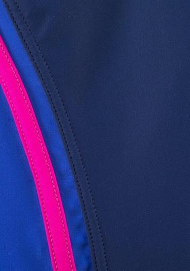 KangaROOS Badeanzug in blau / navy / fuchsia, Produktansicht