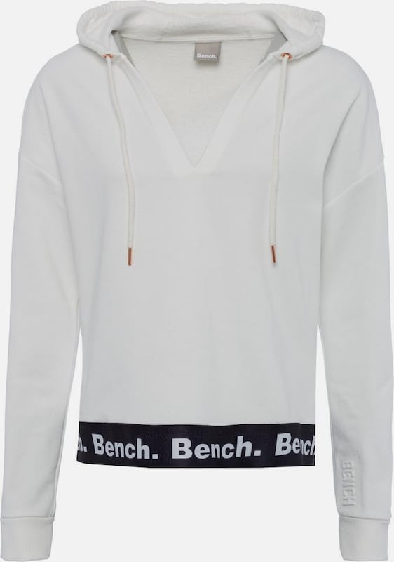 BENCH Sweatshirt in weiß, Produktansicht