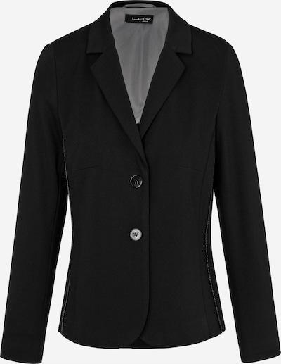 Looxent Jersey-Blazer mit 1/1-Arm in schwarz, Produktansicht
