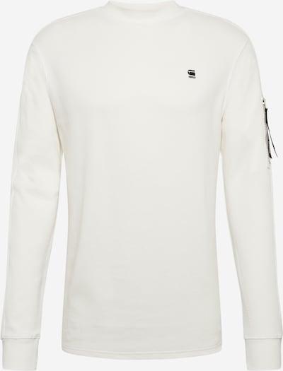 G-Star RAW Shirt 'Kylio waffle o' in offwhite, Produktansicht