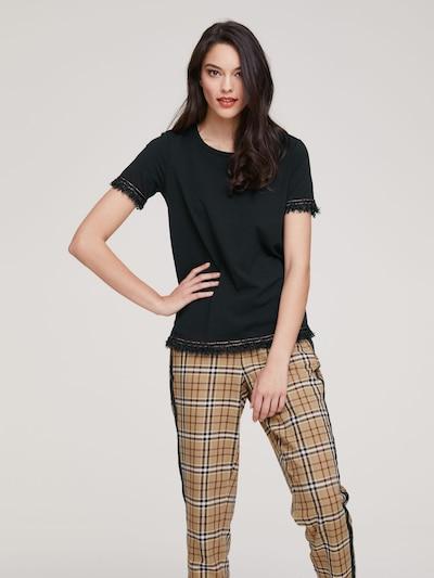 heine Shirt in de kleur Zwart: Vooraanzicht