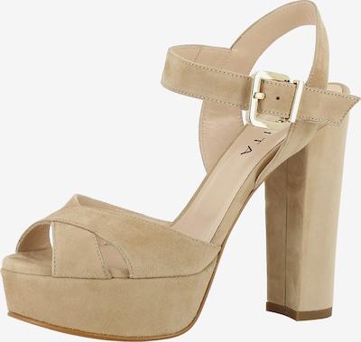 EVITA Sandalette 'LANA' in beige: Frontalansicht