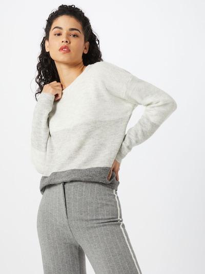 JACQUELINE de YONG Pull-over 'Elanora' en gris foncé, Vue avec modèle