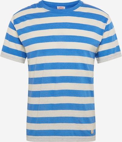 Armor Lux T-Shirt 'Tshirt MC Rayé Héritage' en bleu / blanc naturel, Vue avec produit