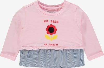 Noppies Shirt 'Riverview' in nachtblau / altrosa / weiß, Produktansicht
