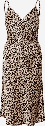 AX Paris Kleid in beige / braun / schwarz, Produktansicht
