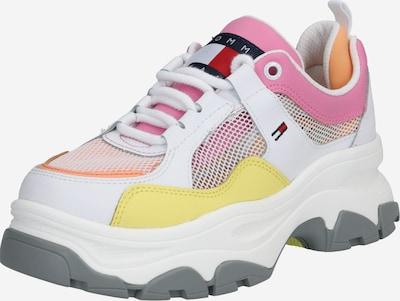 Tommy Jeans Sneaker in gelb / rosa / weiß, Produktansicht