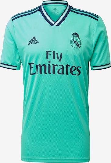 ADIDAS PERFORMANCE Tricot 'Real Madrid 19/20 3rd' in de kleur Nachtblauw / Jade groen, Productweergave