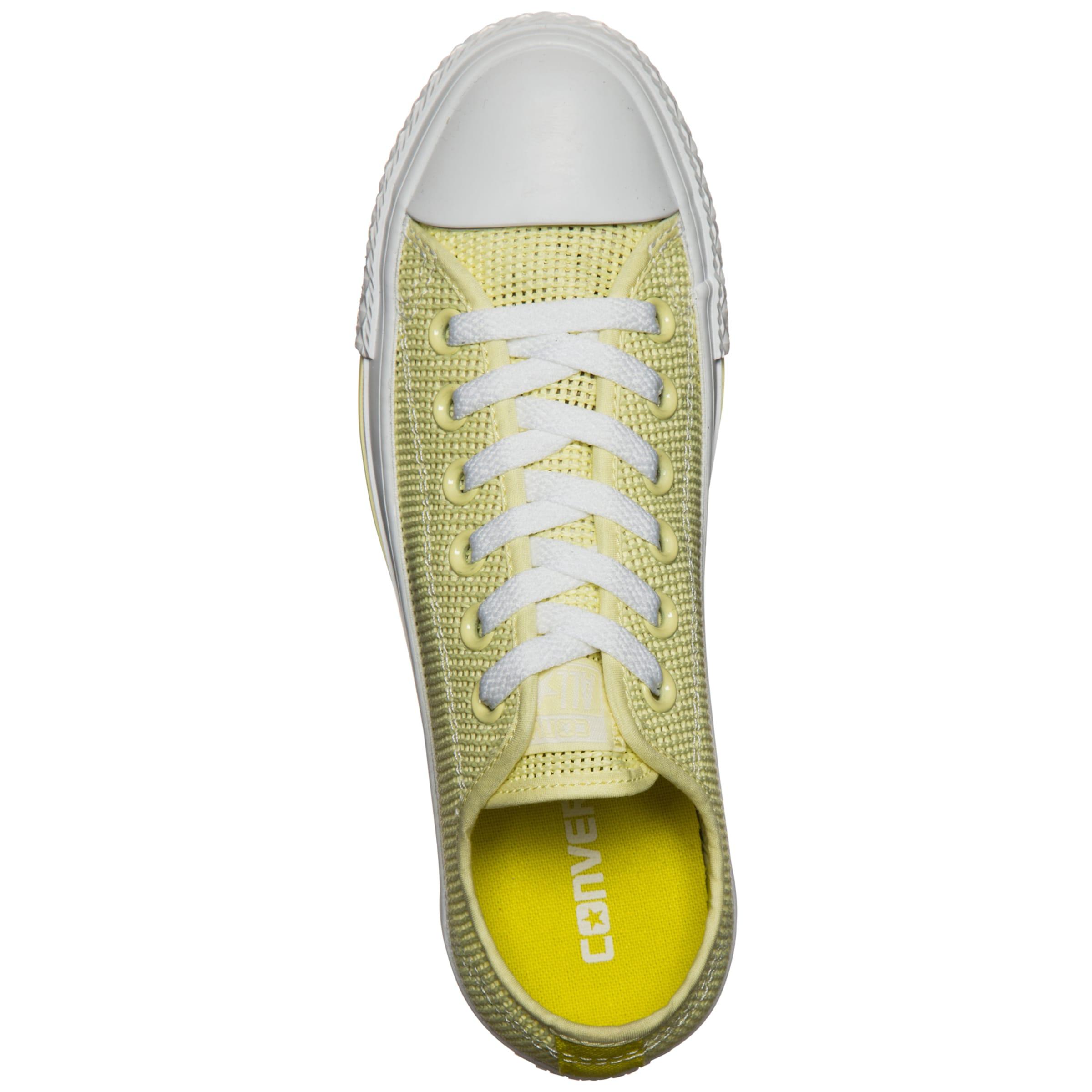 Star All In Taylor 'chuck Converse Ox' Sneaker Gelb Damen 29YeEWDHI