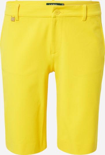 Chino stiliaus kelnės iš Lauren Ralph Lauren , spalva - geltona, Prekių apžvalga