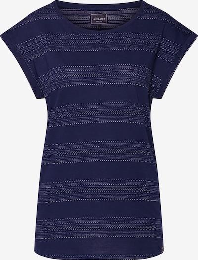 Iriedaily T-shirt 'Neila' en bleu marine / blanc, Vue avec produit