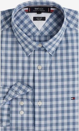 TOMMY HILFIGER Langarmhemd in blau, Produktansicht