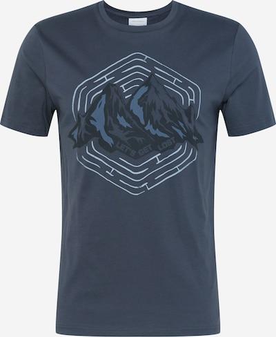 Marškinėliai 'JAAMES LET'S GET LOST' iš ARMEDANGELS , spalva - šviesiai mėlyna / tamsiai mėlyna, Prekių apžvalga