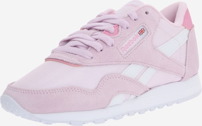 Reebok Classic Sneaker in altrosa / weiß, Produktansicht