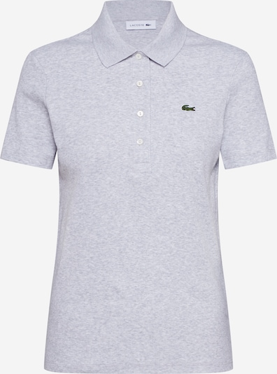 LACOSTE Shirt 'CHEMISE COL BORD COTES' in graumeliert, Produktansicht