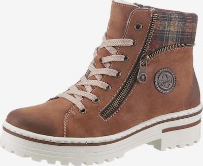 RIEKER Boots en marron, Vue avec produit