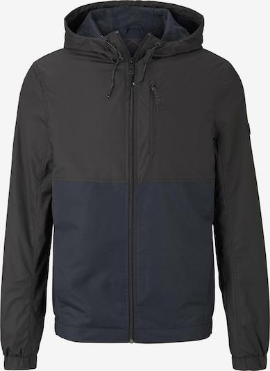TOM TAILOR DENIM Jacke in dunkelblau / schwarz, Produktansicht