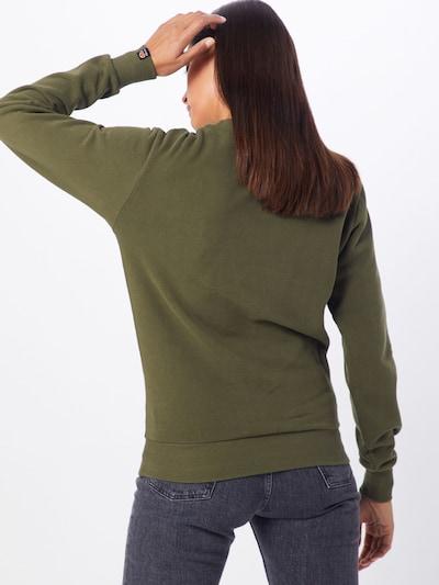 ELLESSE Sweatshirt 'Agata' in khaki: Rückansicht