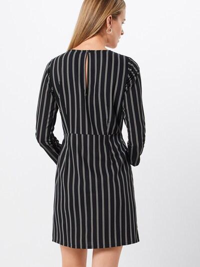 Dorothy Perkins Obleka | črna / bela barva: Pogled od zadnje strani