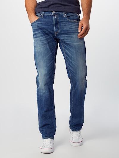 Jeans 'Grover' REPLAY pe denim albastru, Vizualizare model