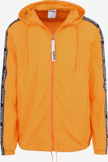 Diadora Sportjas 'Trofeo' in de kleur Sinaasappel / Zwart / Wit, Productweergave