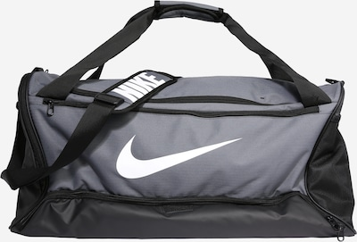 NIKE Sports bag in Grey / White, Item view