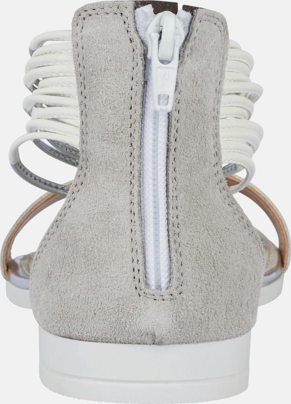 heine Sandalette mit Fersenreißverschluß