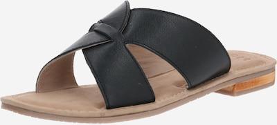 SPM Pantolette 'Coring' in schwarz, Produktansicht