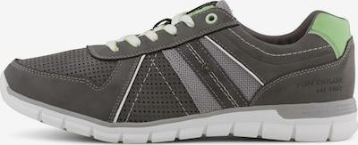 TOM TAILOR Shoes Sneaker im Struktur-Mix in grau, Produktansicht