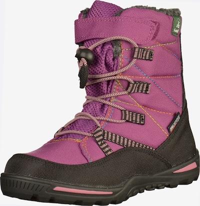 Kamik Stiefel in grau / pink / schwarz, Produktansicht