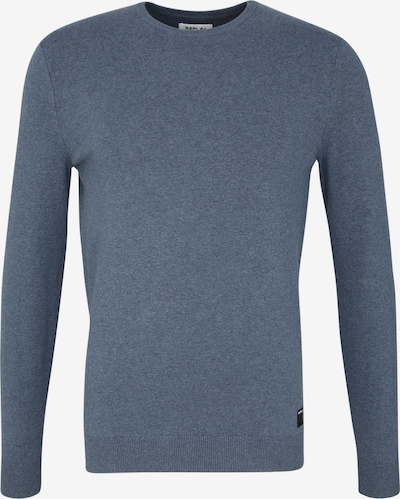 REPLAY Pullover in Melange-Optik in blau, Produktansicht
