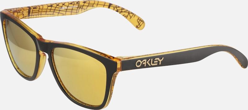 Lunettes En JauneNoir Sport De 'frogskin' Soleil Oakley OkZuiPX
