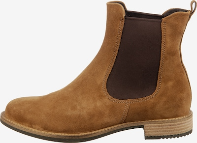 ECCO Chelsea Boots 'Sartorelle 25' en marron / noisette, Vue avec produit