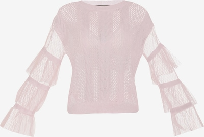 faina Pullover in rosa, Produktansicht