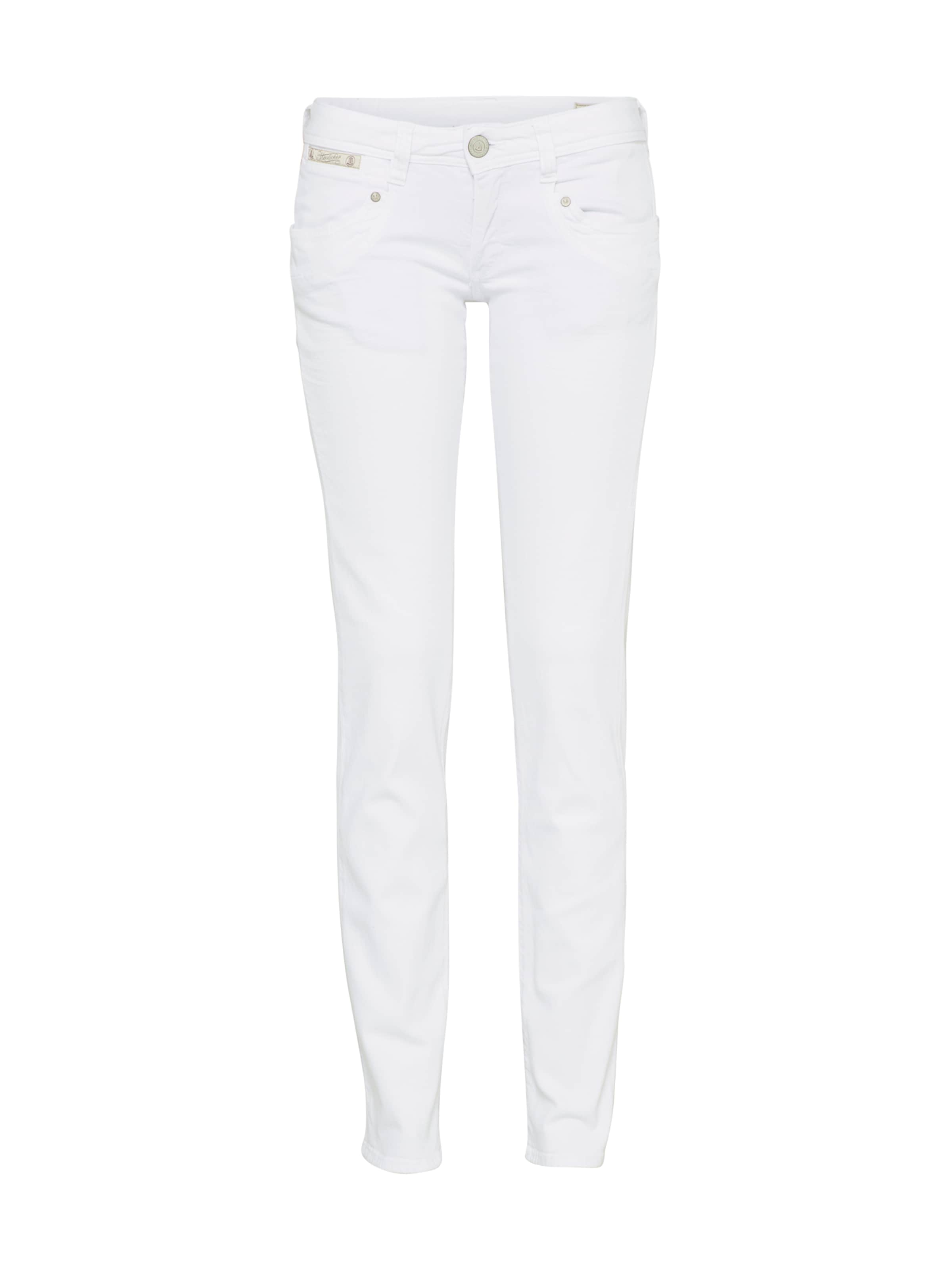 Herrlicher Denim In Slim' Jeans White 'piper gbfY7y6