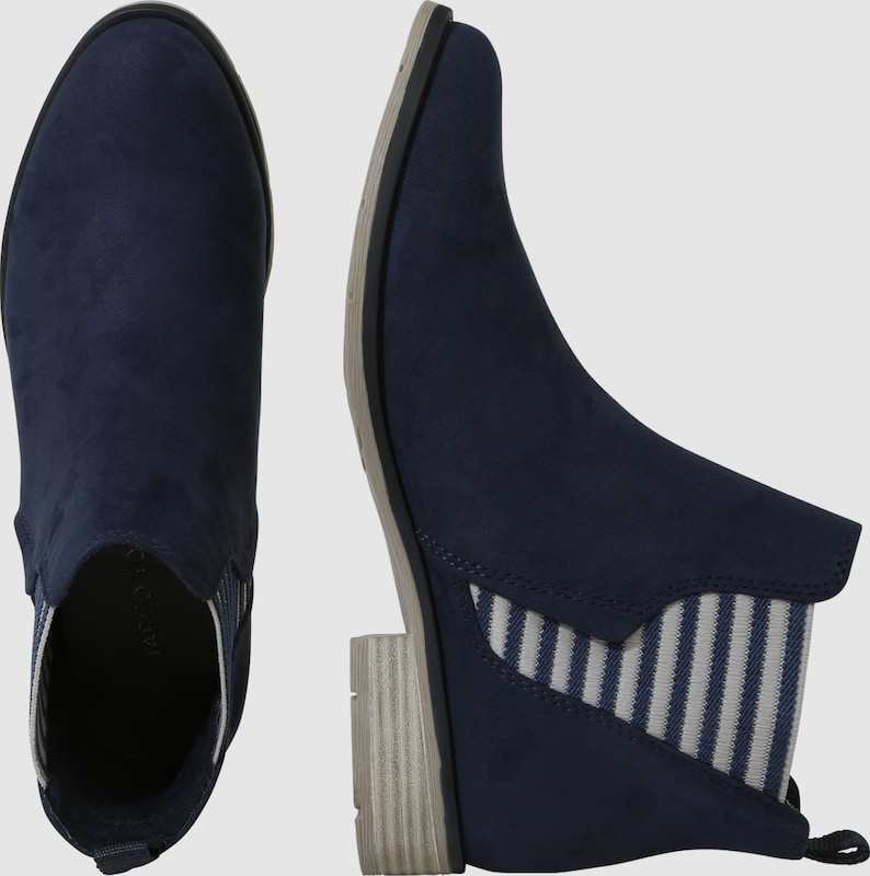 Marco Tozzi Chelsea Boots With Stripes Detail