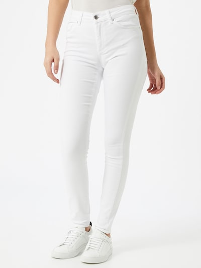 ONLY Traperice 'BLUSH' u bijela, Prikaz modela
