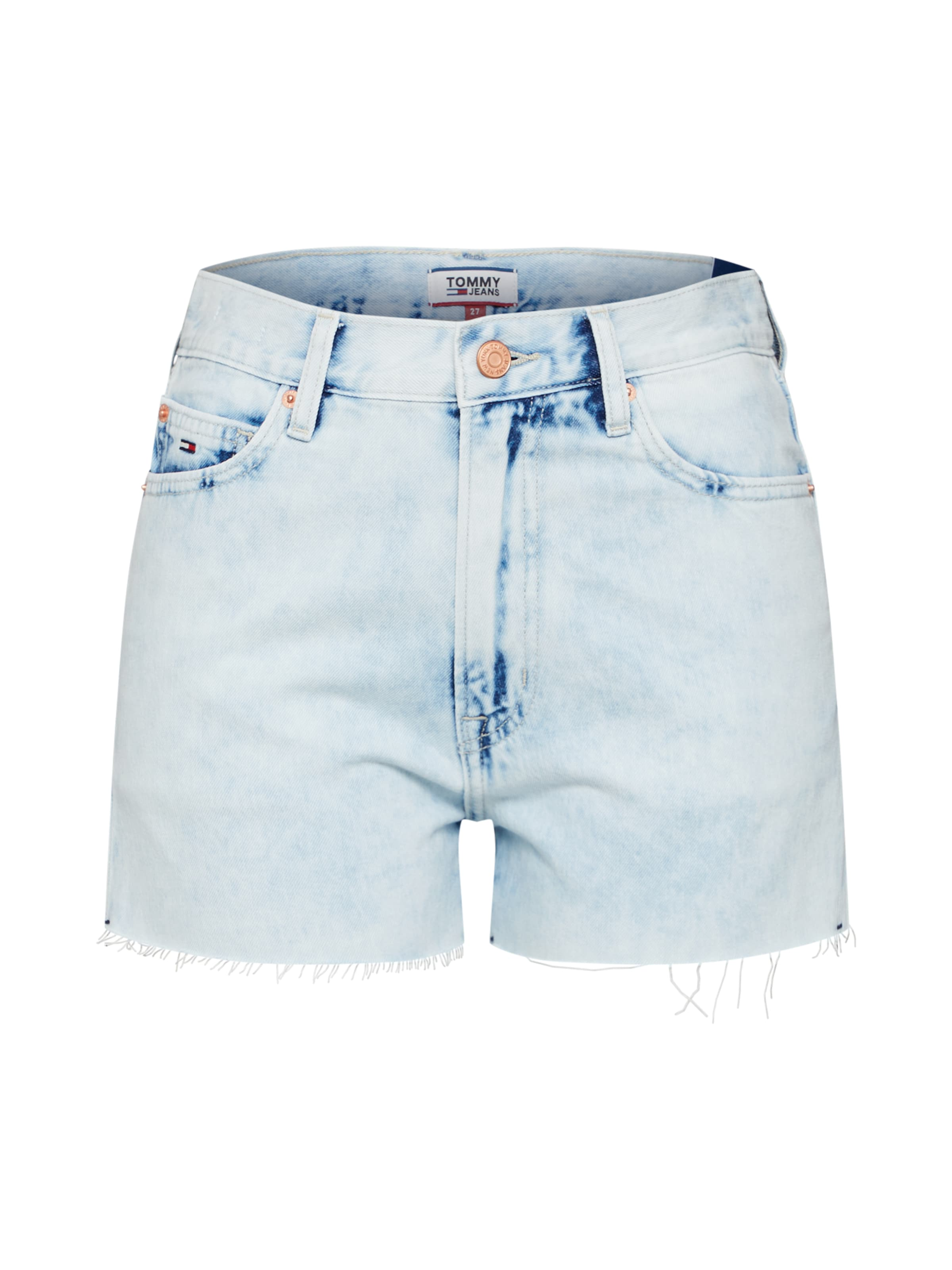 DenimRot Weiß Tommy In Blue Jeans Jeansshorts yYfgI7vb6