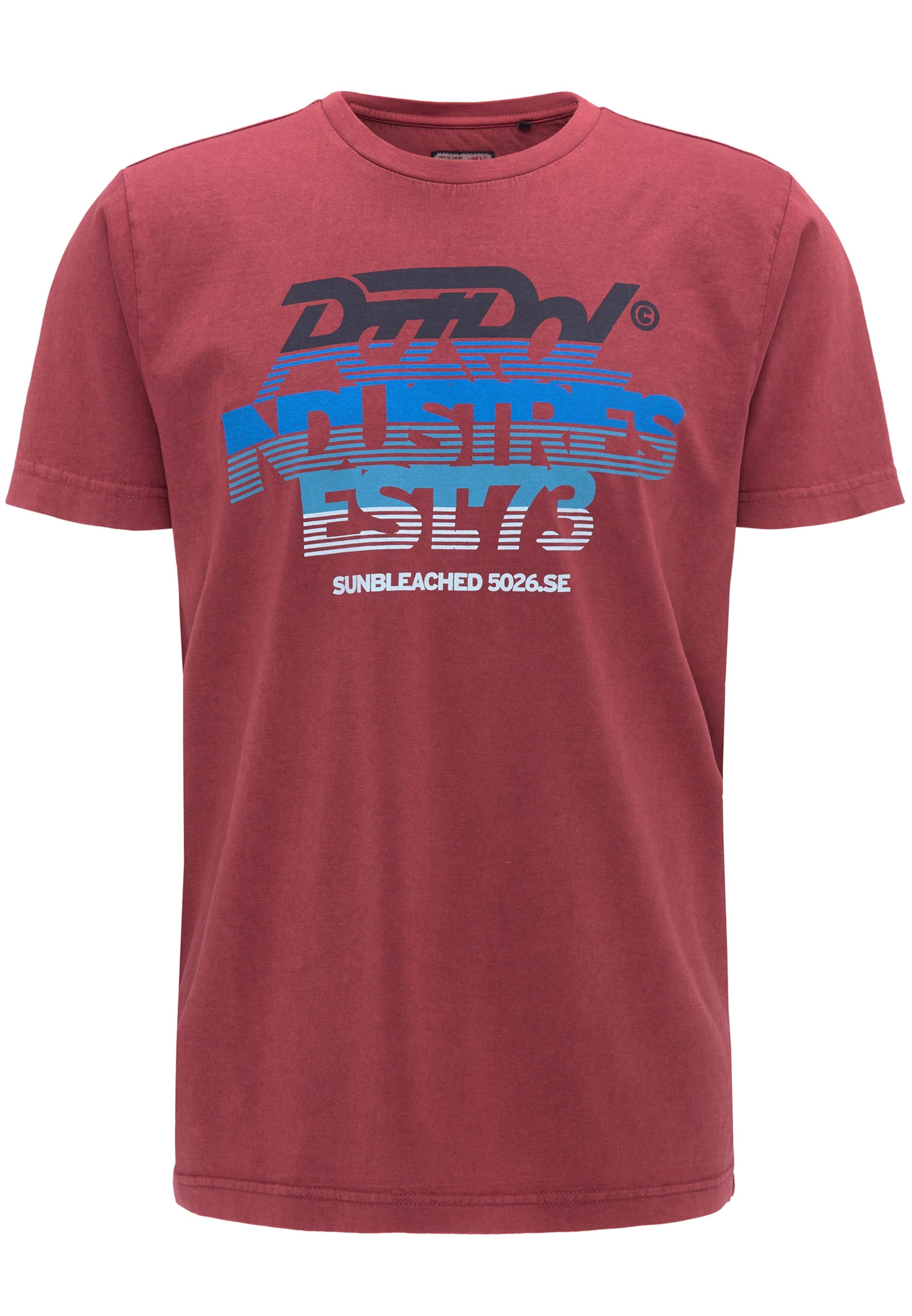 T Industries shirt BlauRot Petrol Schwarz In TJ3FlK1c