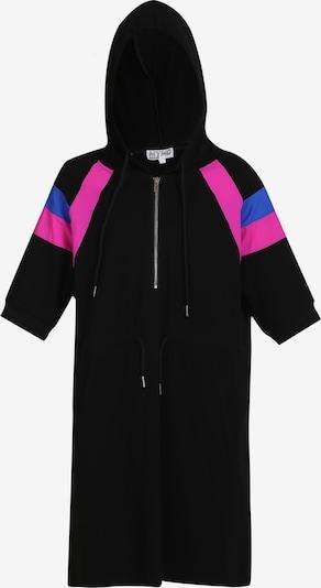 myMo ATHLSR Kleid in blau / fuchsia / schwarz, Produktansicht