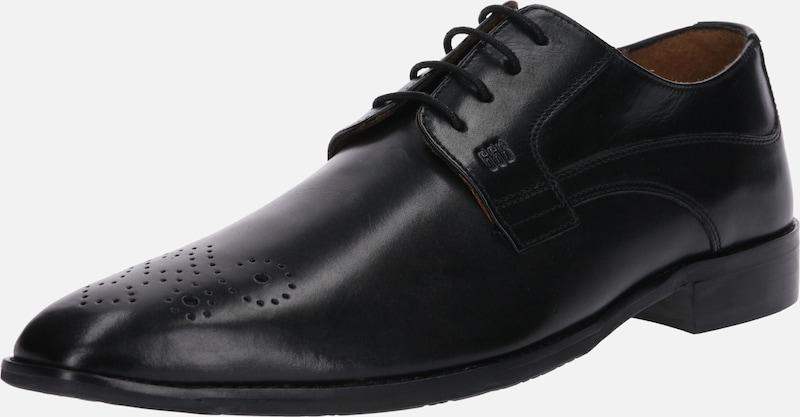 À Bros Gordonamp; Chaussure 'lorenzo' Lacets Noir En kZOuPXi