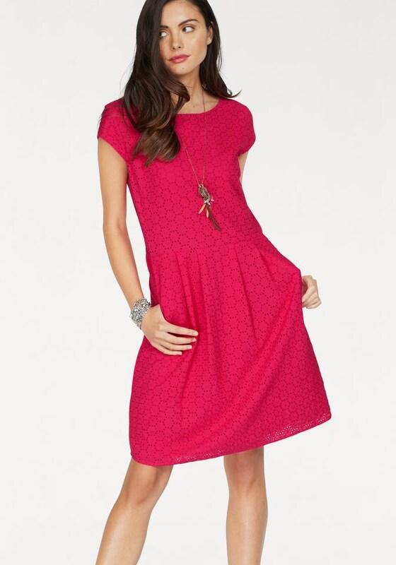 s oliver red label sommerkleid in pink about you. Black Bedroom Furniture Sets. Home Design Ideas