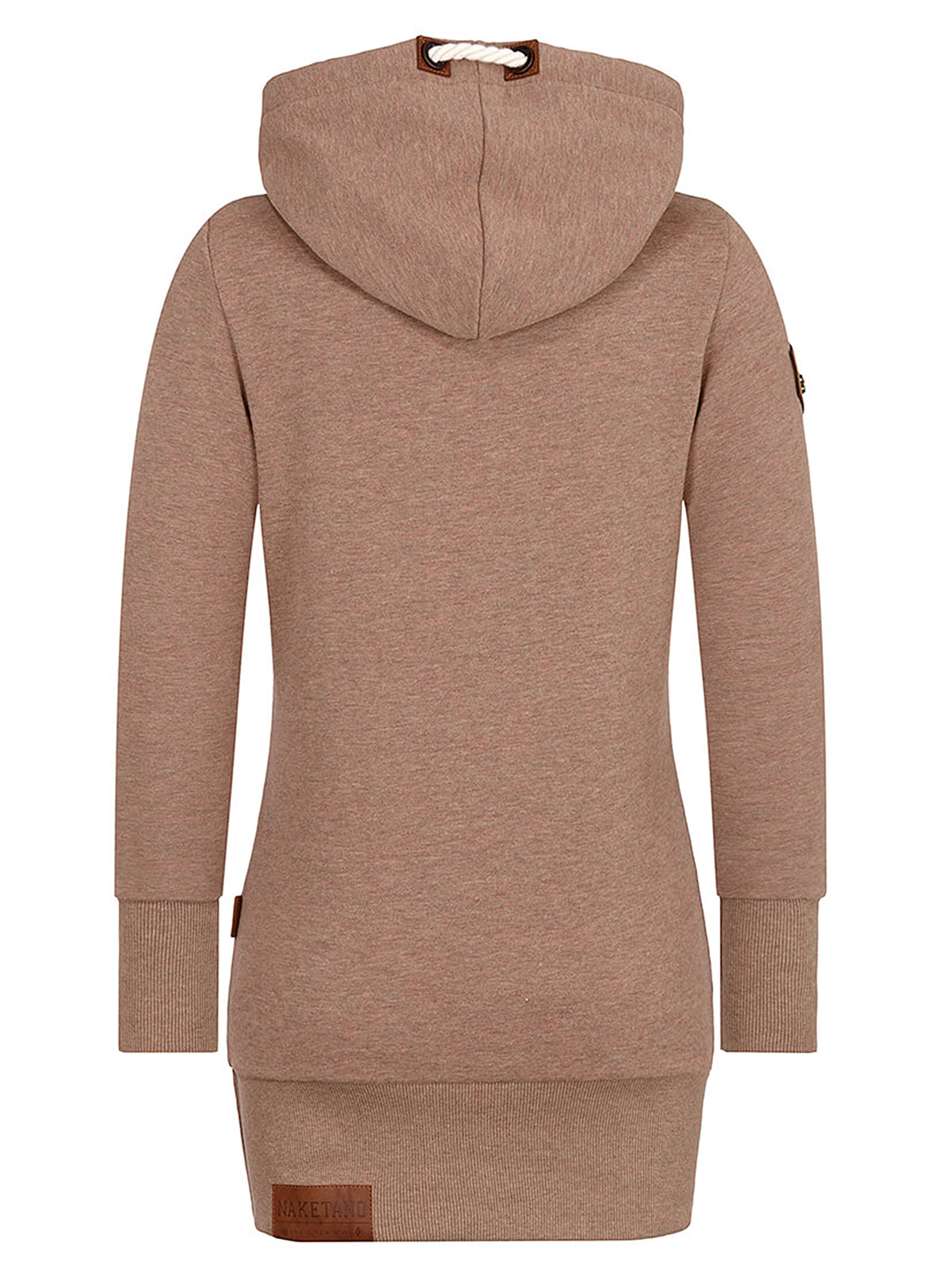 Taupe 'darth En Sweat shirt Naketano Long' fgyYIb76v