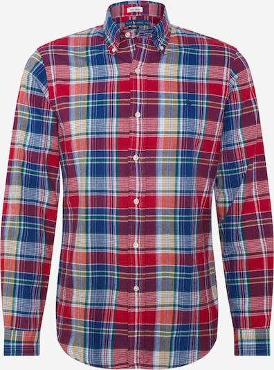 POLO RALPH LAUREN Zakelijk overhemd 'CUBDPPCS' in de kleur Blauw / Rood, Productweergave