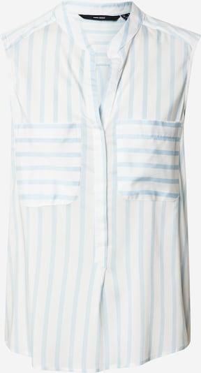 VERO MODA Blusenshirt 'VMERIKA' in blau / weiß, Produktansicht