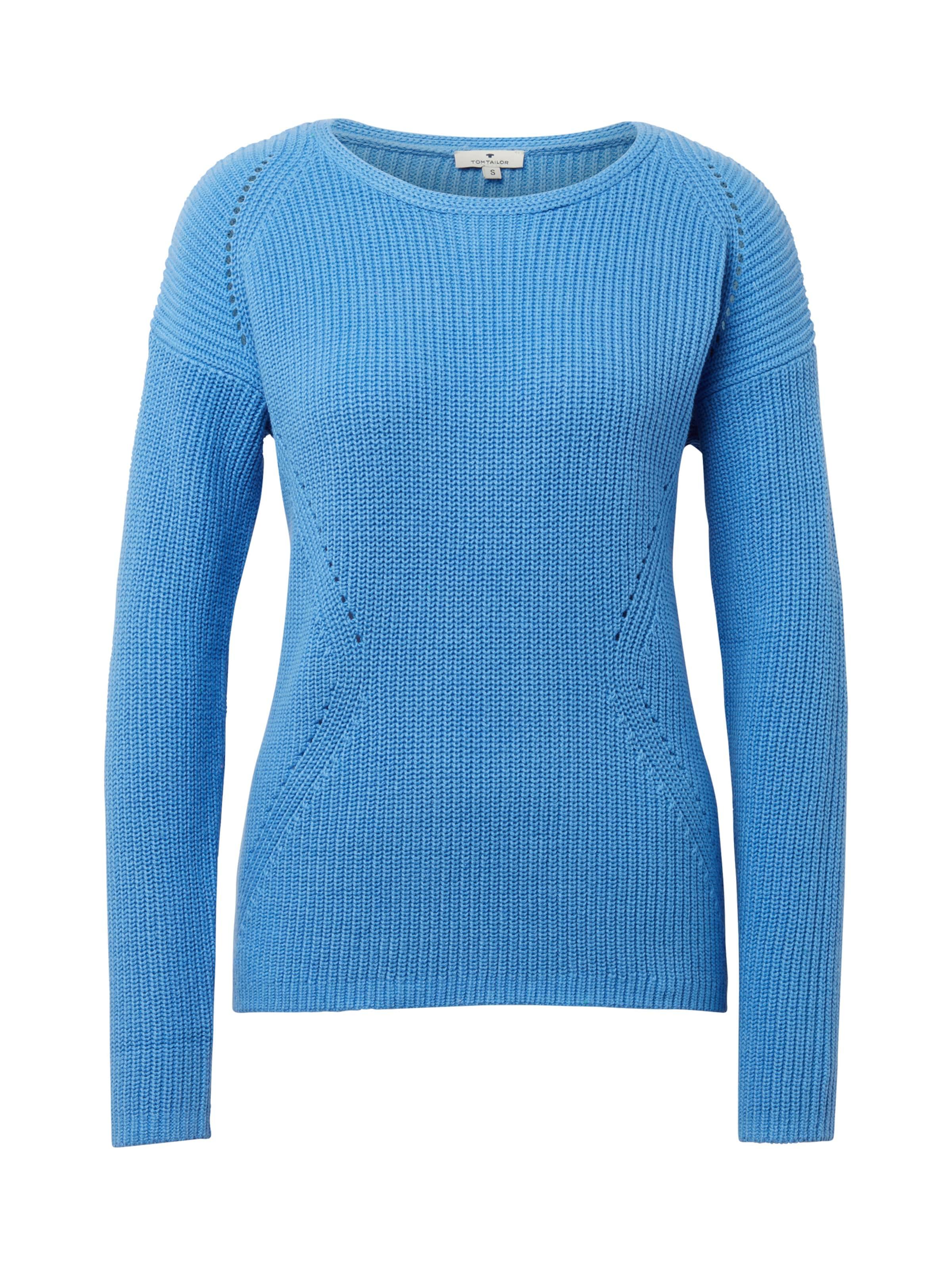 Pullover Pullover In Tom Tom In Hellblau Hellblau Tailor Tailor MqpzGSUV