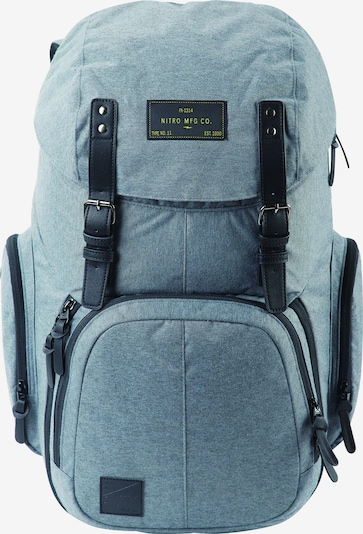 NitroBags Rucksack in taubenblau, Produktansicht