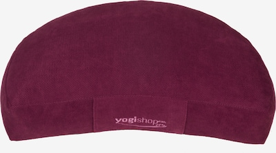 Yogishop Kissen in magenta, Produktansicht