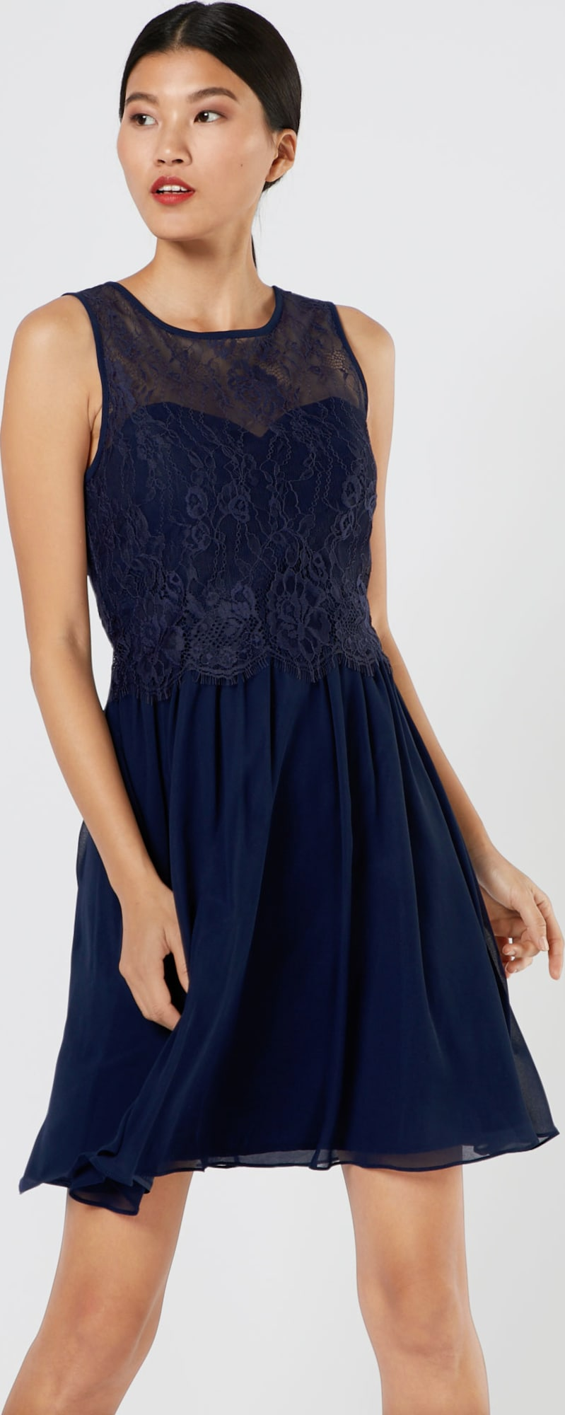 dorothy perkins occasion kleid 39 lola 39 in blau about you