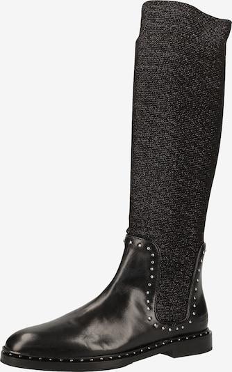 MELVIN & HAMILTON Stiefel in schwarz / schwarzmeliert, Produktansicht